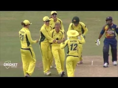 (Video) 2nd ODI, Australia Women in Sri Lanka, 2016 - Highlights | Sri Lanka Cricket | Scoop.it
