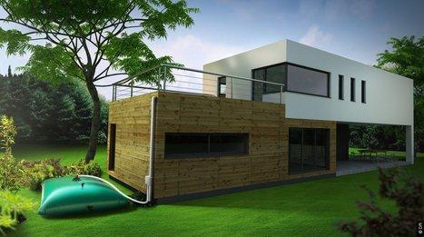 Citerne souple pour récupérer les eaux de pluie | Immobilier 2015 | Scoop.it