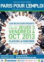 PARIS POUR L'EMPLOI 2013 - JEUDI 3 & VENDREDI 4 OCTOBRE 2013 - PLACE DE LA CONCORDE PARIS 8e | Mickaël DECLERCK | Scoop.it