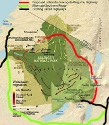 McCarter Biology - Highway Proposal in Tanzania's Serengeti's Plains: A Controversial Issue | Richardson GEO 152 | Scoop.it