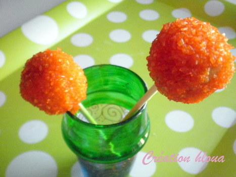 cake-pop à l'orange! | billet | Scoop.it