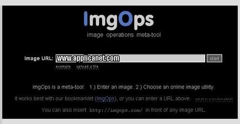 ImgOps: Tous les outils pour utiliser les images en ligne en un seul endroit | Time to Learn | Scoop.it