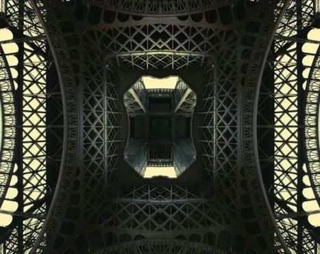 Why does looking up the Eiffel Tower always feel like looking up a skirt? | Tout ce que j'aime | Scoop.it
