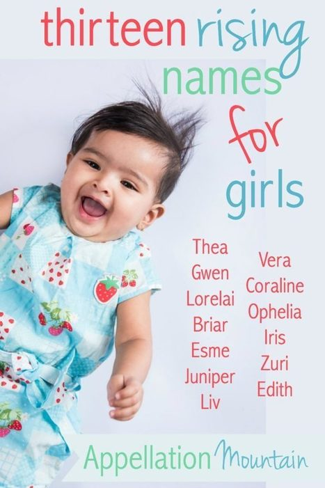 13 Best Rising Girl Names 2016 | Baby Name News! | Scoop.it
