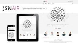 JSN Air - Themeforest Responsive Business Portfolio Template | Theme Mart | Scoop.it