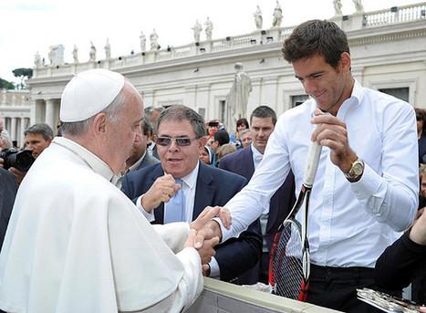 Juan Martin del Potro meets new pope - SI.com | Tenis | Scoop.it
