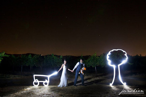 Calvin and Hobbes-Themed Engagement and Wedding Photographs | DJ Services and Party Arrangements | Scoop.it