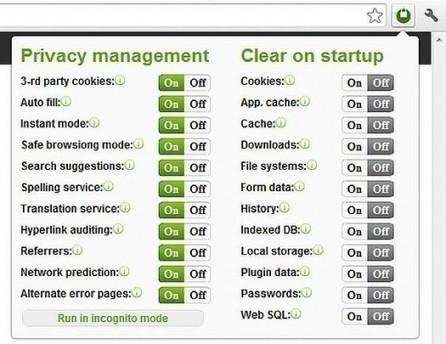Un tableau de bord pour gérer la sécurité dans Chrome, Privacy Manager | Ballajack | Ma boîte à outils | Scoop.it