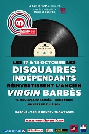 Les disquaires indépendants investissent l'ancien Virgin de Barbès les 17 & 18 octobre | Marché des Disquaires | MaMA 2013 | Scoop.it