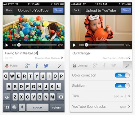 YouTube Capture for iOS Offers Quick & Easy Enhancements and Social Sharing   Best iPhone Applications For Business   Scoop.it