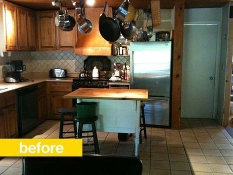 Kitchen Before & After:  From 70s Ski Chalet to Light and Organized   Reader Kitchen Remodel | Best Home Organizing Tips | Scoop.it