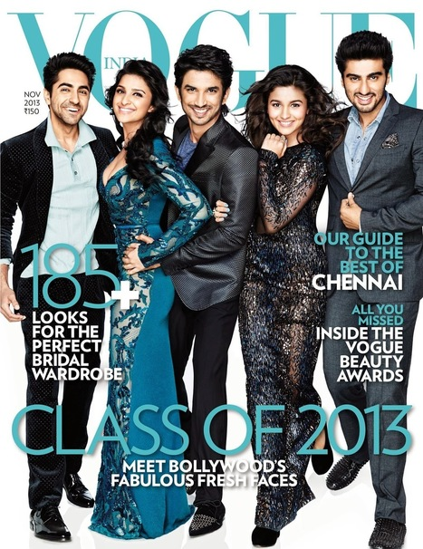Magazine Cover Of Vogue India – November 2013 - 99share.in   Latest In Bollywood   Scoop.it