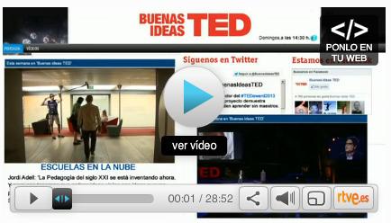 "En La 2, ""Buenas ideas TED"" | edu & tec | APRENDIZAJE | Scoop.it"