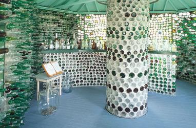 Casas con botellas: Construcciones ecológicas | Reutilizar | Casas Ecológicas | Scoop.it