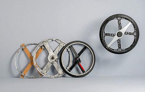 2013 Icon Awards winner: Morph,  the world's first folding wheelchair wheel   Creative Feeds   Scoop.it