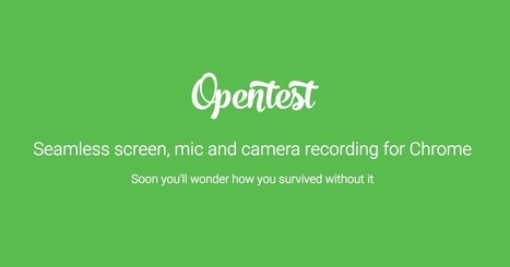 Seamless screen, mic and camera recording for Chrome | I'm Bringing Techy Back | Scoop.it