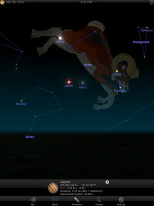Star Identification on iPad: 7 Sky Guide Apps | iPad i undervisningen | Scoop.it