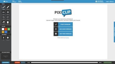 Edu-Curator: PixiClip: een leuke webtool om korte uitlegfilmpjes te maken [Flip de Klas] | ICT Nieuws | Scoop.it