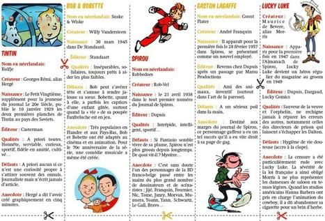 Cinq héros incontournables de la bande dessinée belge | FLE et nouvelles technologies | Scoop.it