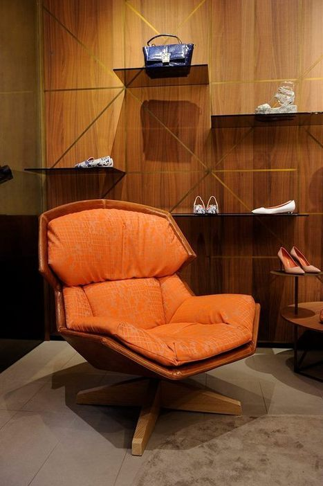 Santoni presents the new Moroso lounge chair | Le Marche & Fashion | Scoop.it