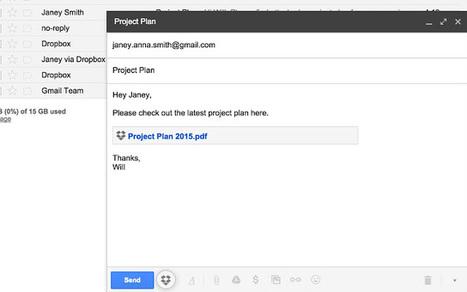 Dropbox for Gmail (Beta)   technologies   Scoop.it