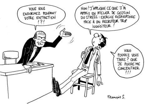 Gérer le stress de l'entretien d'embauche   Actu & coaching Monster.fr   Communication RH   Scoop.it