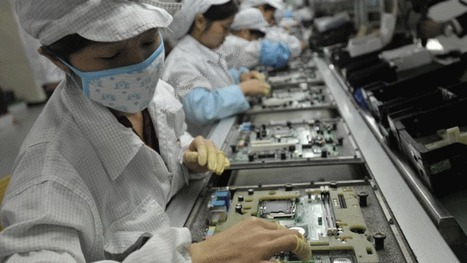 Foxconn replaces '60,000 factory workers with robots'  | Managing Technology and Talent for Learning & Innovation | Scoop.it