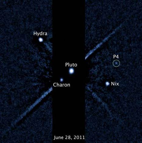 Pluto has another moon! | Bad Astronomy | Discover Magazine | Planets, Stars, rockets and Space | Scoop.it