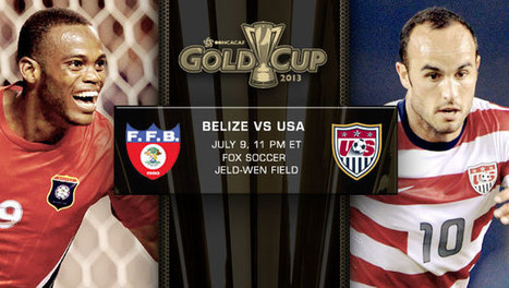 USA vs. Belize | Gold Cup Match Preview | Belize Food | Scoop.it