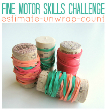 Fine Motor Skills Challenge (and some math) | Motor activity for young children | Scoop.it