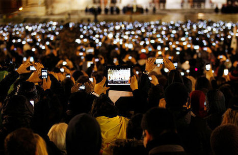 A Defining Question in an iPhone Age: Live for the Moment or Record It? | Morning Radio Show Prep | Scoop.it