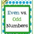 Free Even and Odd Number Assessment   Free Elementary Worksheet Printables   Scoop.it