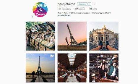 Etude : l'utilisation des réseaux sociaux par les destinations | News on Tourism | Scoop.it