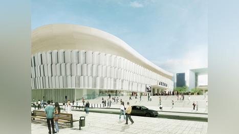 Stade Arena Nanterre - La Défense - Christian de Portzamparc | Ressources en Géographie | Scoop.it