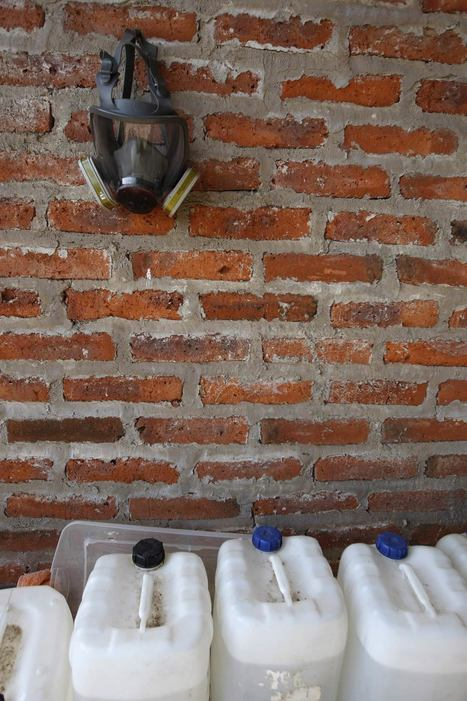 Inside a clandestine Mexican meth lab (big photo gallery) – Boing Boing | U.S.-Mexico border | Scoop.it