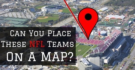The Ludicrously Difficult NFL Geography Quiz | AP HUMAN GEOGRAPHY DIGITAL  STUDY: MIKE BUSARELLO | Scoop.it