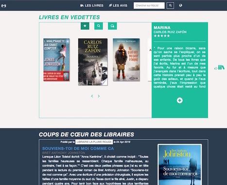 My Library-Online : une plateforme d'échanges entre lecteurs et libraires   Trucs de bibliothécaires   Scoop.it