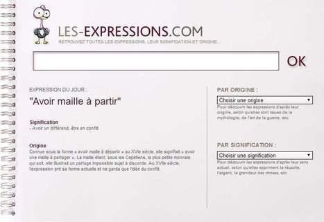 Les expressions de la langue française   Les Infos de Ballajack   Ca m'interpelle...   Scoop.it