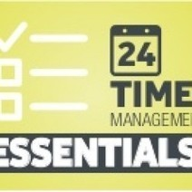 24 Time Management Essentials   Visual.ly   time-management   Scoop.it