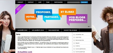 GOLDEN BLOG AWARDS 2011 : LES JURYS VOTENT | Blog Geek de Deux Ronfleurs Professionnels - iRonfle | Golden Blog Awards | Scoop.it