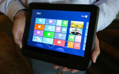HP Shows What Windows 8 Tablets for Business Will Look Like [PICS] | Gadgets - Hightech | Scoop.it