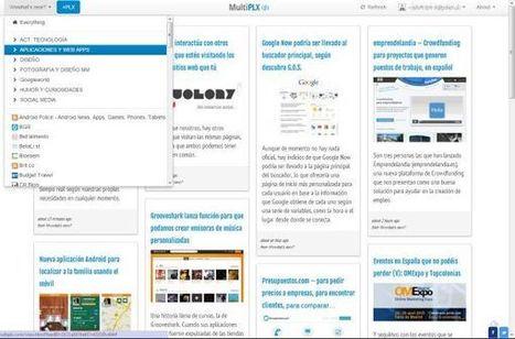 MultiPLX, elegante lector de canales RSS con un toque tipo Pinterest | Weblearner | Scoop.it