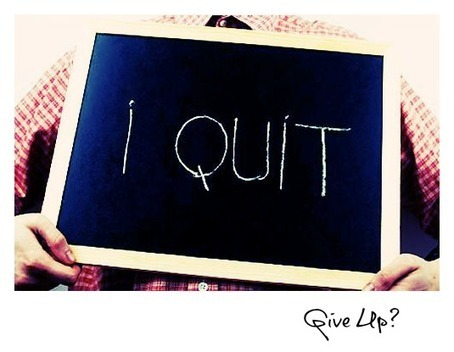 Do You Feel Like Quitting? - #bealeader   The Second Mile   Scoop.it