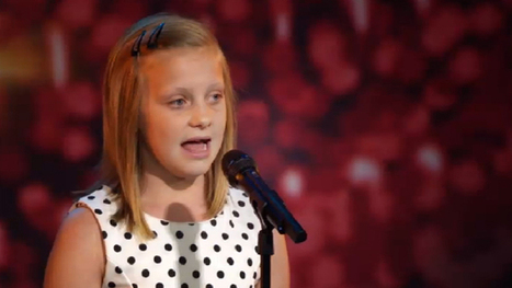 Karolien emotioneert ouders, zaal én jury | If I can do it !!! | Scoop.it