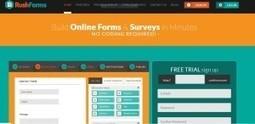 RushForm's Blog: Online Form Building Sites | RushForms | Scoop.it