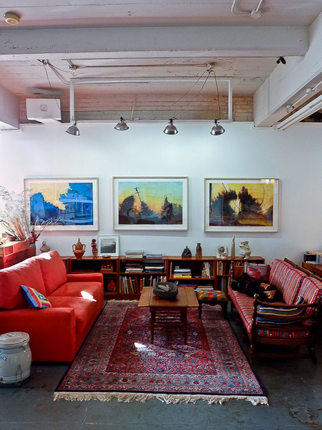 Mary Sprague: Glorious Local Artist's Glorious Loft Featured on Apartment ... - Riverfront Times (blog) | Raw and Real Interior Design | Scoop.it