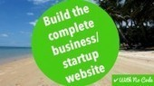 Build the complete business/startup website by Sam Atkinson | Udemy | Website Without Code | Scoop.it