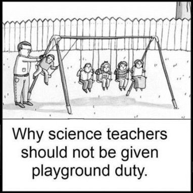 Why science teacher should never do playground duty   Education   Scoop.it