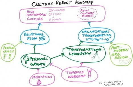 Connecting the Dots on Agile, Org Culture, Personal Growth & Temenos | Smart Self Development Plan | Scoop.it