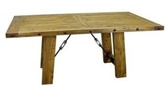 Rustic Pine Turnbuckle Dining Room Table | Rustic Pine Turnbuckle Dining Room Table | Scoop.it